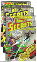 Silver Age (1956-1969):Mystery, House of Secrets Group (DC, 1965-66) Condition: Average FN-. Thisgroup includes #71, 74, and 78-80. All have Eclipso storie...(Total: 5 Comic Books Item)