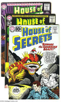 Silver Age (1956-1969):Mystery, House of Secrets Group (DC, 1962-64) Condition: Average VG+. Thisgroup includes #48 (Alex Toth art), 56, 61 (first appearan...(Total: 9 Comic Books Item)