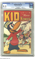 Golden Age (1938-1955):Funny Animal, Kid Movie Komics #11 (Timely, 1946) CGC VF+ 8.5 Off-white to whitepages. Only issue. Harvey Kurtzman art. Highest grade ass...