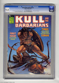 Magazines:Miscellaneous, Kull and the Barbarians (magazine) #1 (Marvel, 1975) CGC NM 9.4Off-white to white pages. John Severin frontispiece. Michael...