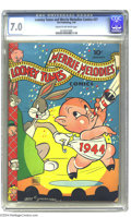 Golden Age (1938-1955):Funny Animal, Looney Tunes and Merrie Melodies Comics #27 (Dell, 1944) CGC FN/VF7.0 Cream to off-white pages. The highest grade yet assig...
