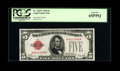 Small Size:Legal Tender Notes, Fr. 1525* $5 1928 Legal Tender Note. PCGS Gem New 65PPQ.. ...