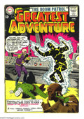 Silver Age (1956-1969):Superhero, My Greatest Adventure #80 (DC, 1963) Condition: GD. Introduction and origin of Doom Patrol, and begin series. Origin and fir...