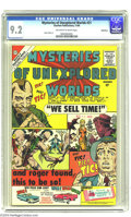 Silver Age (1956-1969):Mystery, Mysteries of Unexplored Worlds #21 Bethlehem pedigree (Charlton,1960) CGC NM- 9.2 Off-white to white pages. Steve Ditko cov...
