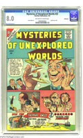Silver Age (1956-1969):Mystery, Mysteries of Unexplored Worlds #22 Bethlehem pedigree (Charlton,1961) CGC VF 8.0 Off-white to white pages. Steve Ditko cove...