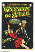 Golden Age (1938-1955):Science Fiction, Mystery in Space #1 (DC, 1951) Condition: VG. DC pulled out the bigguns for this premiere issue. It worked -- the first ser...