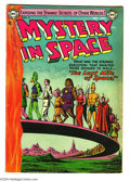 Golden Age (1938-1955):Science Fiction, Mystery in Space #17 (DC, 1954) Condition: GD/VG. Carmine Infantinoand Murphy Anderson art. Overstreet 2004 GD 2.0 value = ...