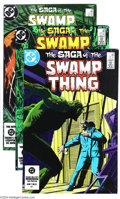 Modern Age (1980-Present):Horror, Saga of the Swamp Thing Group (DC, 1984-1990) Condition: AverageNM-. This group includes #21 (FN/VF) , 28, and 29, as well ...(Total: 16 Comic Books Item)