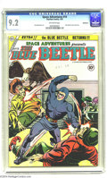 Golden Age (1938-1955):Science Fiction, Space Adventures #14 Bethlehem pedigree (Charlton, 1954) CGC NM-9.2 Off-white pages. Blue Beetle story. This is the only co...