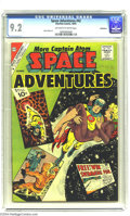 Silver Age (1956-1969):Science Fiction, Space Adventures #42 Bethlehem pedigree (Charlton, 1961) CGC NM- 9.2 Off-white to white pages. Featuring a Captain Atom stor...