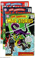 Silver Age (1956-1969):War, Star Spangled War Stories Group (DC, 1962-70) Condition: Average FN. This lot consists of issues #102 (VG+); 121 (FN/VF); 12... (Total: 7 Comic Books Item)