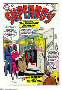 Superboy #84 (DC, 1960) Condition: VF. Curt Swan cover. Henry Boltinoff and George Papp art. Brown pages. Overstreet 200...