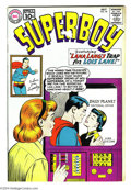 Silver Age (1956-1969):Superhero, Superboy #90 (DC, 1961) Condition: FN-. Pete Ross learns Superboy's identity. Curt Swan cover. Al Plastino, Bernard Baily, H...