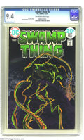 Bronze Age (1970-1979):Horror, Swamp Thing #8 (DC, 1974) CGC NM 9.4 Off-white to white pages.Bernie Wrightson cover and art. The highest grade this issue ...