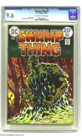 Bronze Age (1970-1979):Horror, Swamp Thing #9 (DC, 1974) CGC NM+ 9.6 Off-white to white pages.Bernie Wrightson cover and art. Only a handful of copies hav...