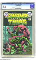 Bronze Age (1970-1979):Horror, Swamp Thing #10 (DC, 1974) CGC NM+ 9.6 Off-white pages. BernieWrightson cover and art. Last Wrightson issue. Only two copie...