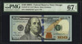 Small Size:Federal Reserve Notes, Fr. 2187-G* $100 2009A Federal Reserve Star Note. PMG Superb Gem Unc 67 EPQ.. ...