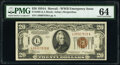 Fr. 2305 $20 1934A Hawaii Federal Reserve Note. PMG Choice Uncirculated 64