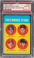 Baseball Cards:Singles (1960-1969), 1963 Topps Willie Stargell - 1963 Rookie Stars #553 PSA Gem Mint 10 - Dimitri Young Collection! ...