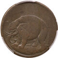 1694 1/2 P Carolina Elephant Token, PROPRIETORS, VF20 PCGS. CAC. Hodder 2-F, W-12120, R.6....(PCGS# 73)