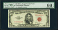 Small Size:Legal Tender Notes, Fr. 1533 $5 1953A Legal Tender Note. PMG Gem Uncirculated 66 EPQ.. ...