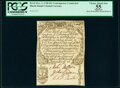 Contemporary Counterfeit Rhode Island December 2, 1740 20s/£1 PCGS Apparent Choice About New 55