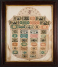 Fractional Currency:Shield, Fr. 1382 Fractional Currency Shield, With Pink Background.. ...