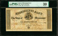 Obsoletes By State:Mississippi, Jackson, MS- State of Mississippi Bond $500 Mar. 26, 1861 Cr. 61A PMG Very Fine 30.. ...