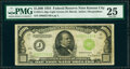 Fr. 2211-J $1,000 1934 Light Green Seal Federal Reserve Note. PMG Very Fine 25