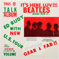 Music Memorabilia:Recordings, The Beatles It's Here, Luv!!! 1965 Talk Album- Rarest Version Sealed & Signed by Ed Rudy LP (RPN 3, 1965)....