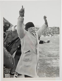 1967 Vince Lombardi Green Bay Packers Ice Bowl Original Photograph, PSA/DNA Type 1
