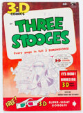 Golden Age (1938-1955):Humor, Three Stooges #3 (St. John, 1953) Condition: FN....