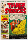Golden Age (1938-1955):Humor, Three Stooges #1 (St. John, 1953) Condition: FN....