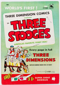 Three Stooges #2 (St. John, 1953) Condition: FN