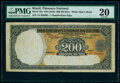 World Currency, Brazil Thesouro Nacional 200 Mil Reis ND (1916) Pick 78a PMG Very Fine 20.. ...