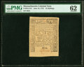 Colonial Notes:Massachusetts, Massachusetts June 18, 1776 42s or $7 Fr. MA-212 PMG Uncirculated 62.. ...