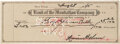 Baseball Collectibles:Others, 1945 Babe Ruth Signed Check. ...