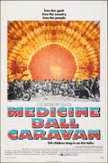 """Movie Posters:Rock and Roll, Medicine Ball Caravan (Warner Bros., 1971). Folded, Very Fine-. One Sheet (27"""" X 41""""). Rock and Roll.. ..."""