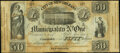 Obsoletes By State:Louisiana, New Orleans, LA - City of New Orleans Municipality No. One $50 6% Post Note Act of Oct. 30, 1837 Remainder Very Fine.. ... (Total: 2 notes)