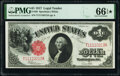 Fr. 39 $1 1917 Legal Tender PMG Gem Uncirculated 66 EPQ*