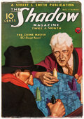 Pulps:Hero, The Shadow - August 1, 1934 (Street & Smith) Condition: VG....