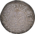 Colonials, 1652 Oak Tree Shilling, IN at Bottom, Noe-5, W-470, Salmon 3-D, R.2, MS63 NGC. ...