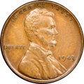Lincoln Cents, 1943 Struck on a Bronze Planchet AU55 NGC. CAC. ...