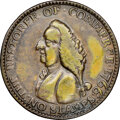 Colonials, 1766 Pitt Farthing, Betts-520, W-8345, R.6, XF45 NGC....