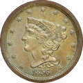 1856 C-1, B-2a, R.1, MS64 Brown NGC. Our EAC grade MS60....(PCGS# 35336)