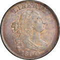 1800 Draped Bust, C-1, B-1b, R.1, MS63 Brown NGC. Our EAC grade MS63. ...(PCGS# 35119)