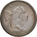1794 High Relief Head, C-8, B-8, R.5, Fine 15 NGC. Our EAC grade VG8. ...(PCGS# 35060)