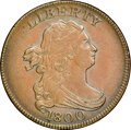 1800 Draped Bust, C-1, B-1, R.1, MS63 Brown NGC. CAC. Our EAC grade AU55....(PCGS# 35119)