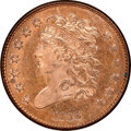 Proof Half Cents, 1836 Second Restrike, B-2, R.7, PR65 Red and Brown NGC. CAC. Our EAC grade PR64. ...