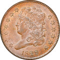 1828 13 Stars, C-1, B-1, R.1, MS63 Brown NGC. CAC. Our EAC grade MS60. ...(PCGS# 35258)